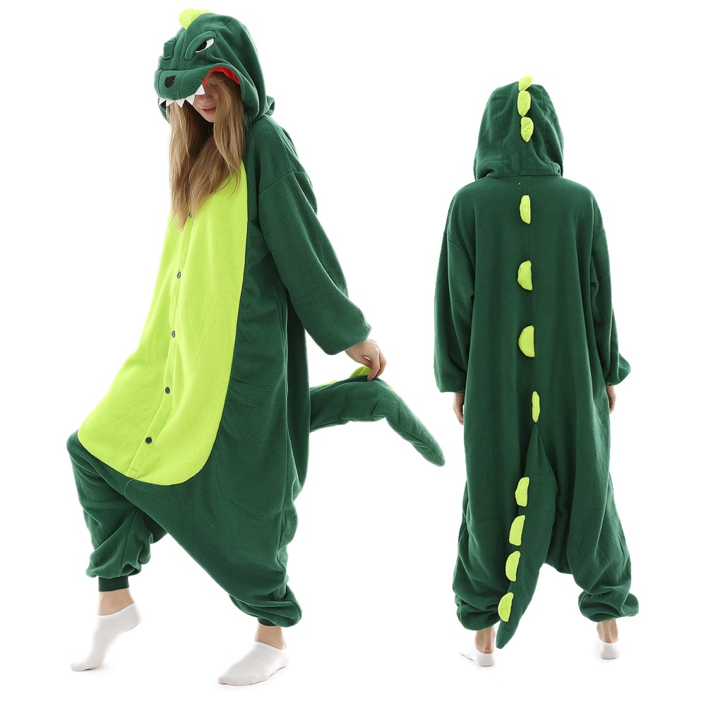 Dinosaur Onesie Pajamas for Adult & Teens Animal Onesies