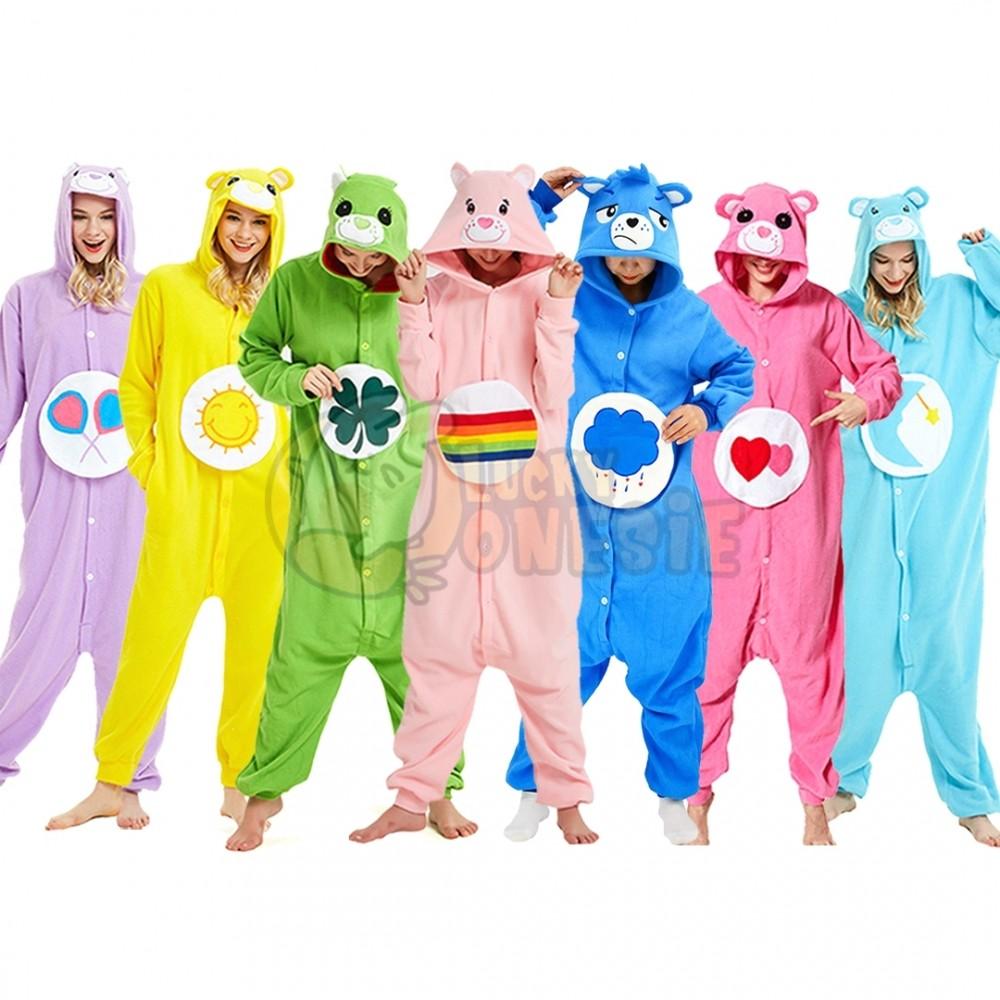 Care Bear Onesie Pajamas Animal Onesies for Adult & Teens