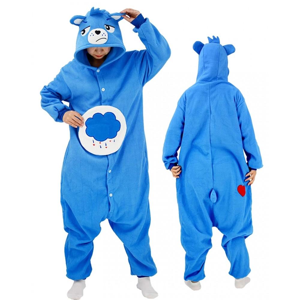 Grumpy Bear Onesie for Adults & Teens Care Bear Onesie Pajamas