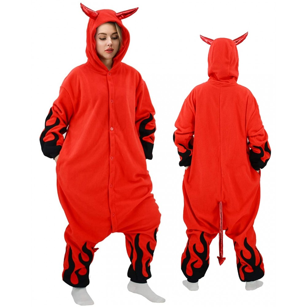 Devil Onesie for Adults & Teens Halloween Costumes
