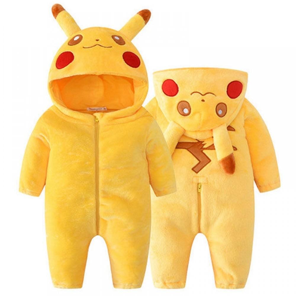 Pokemon Pikachu Onesie Baby Infant Pikachu Costume ...