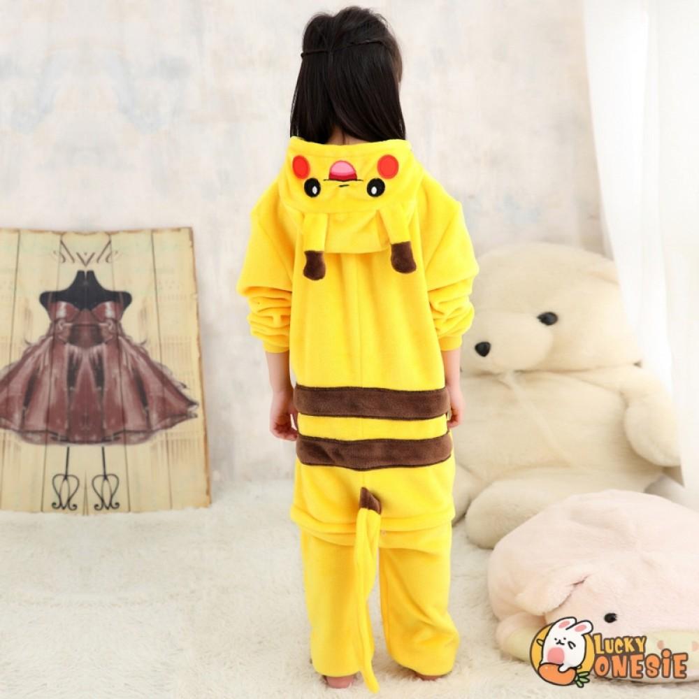 Kids Girl Animal Pyjamas Pikachu Onesie11 boys Pokemon Charmander Costume Pyjama